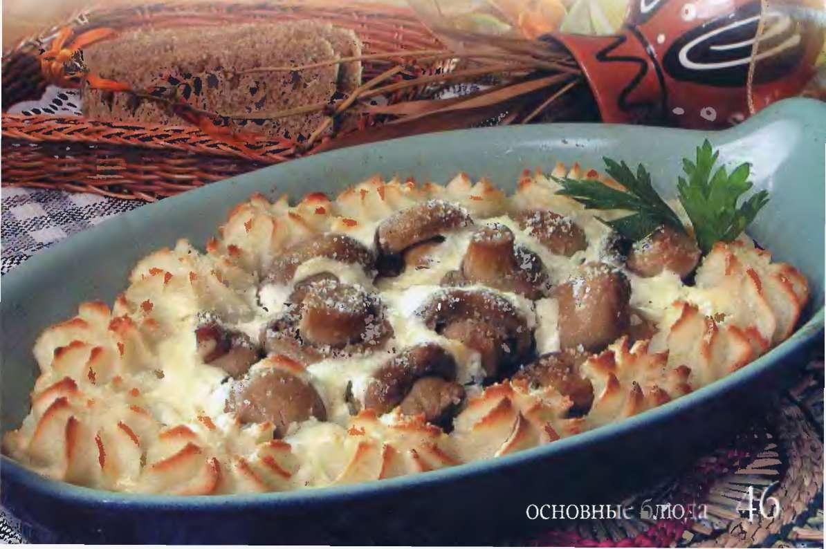 Блюда из курицы с белыми грибами рецепты